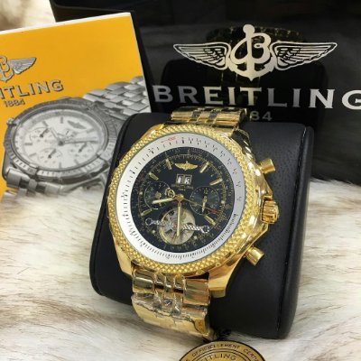 BREITLING BENTLEY TOURBILION BLACK GOLD