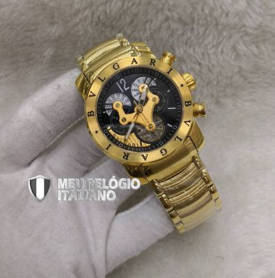 BULGARI HYBRID GOLD BLACK - MQBGCV3GD