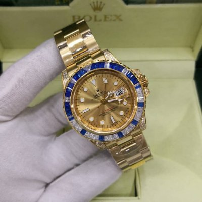 ROLEX CRAVEJADO ALL GOLD - GEZ3N4AE6