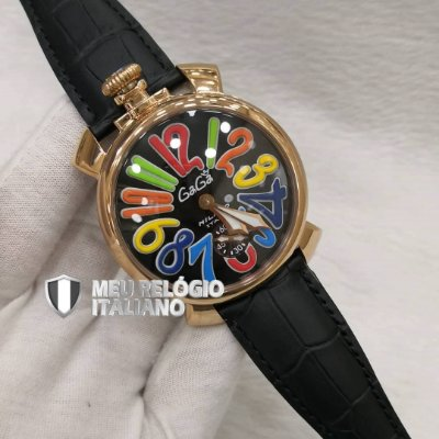 GAGA MILANO CLASSIC BLACK ROSÊ - EAZ6RZX55