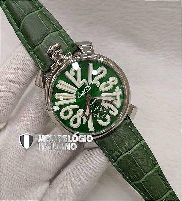 GAGA MILANO BLACK GREEN CLASSIC - WTTSTGLRS
