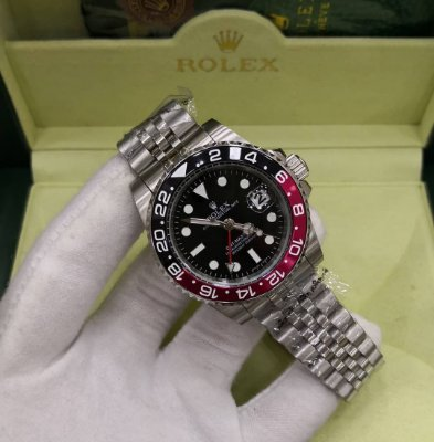 ROLEX GMT MASTER II BLACK RED - ARGWZJ4RS
