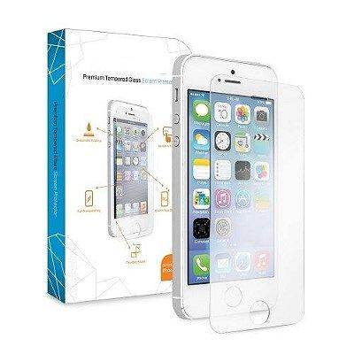 Película de Vidro iPhone 5 5S 5C - Vidro Temperado