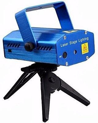 Iluminação Balada - Mini Laser com desenhos 110v