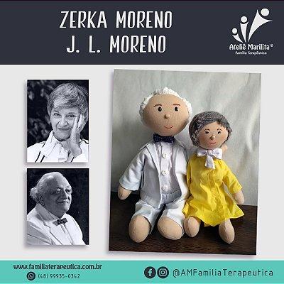 Zerka e J. L. Moreno - Boneco de Pano