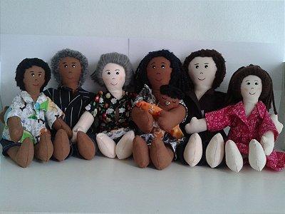 Família Terapêutica (bonecos sexuados)
