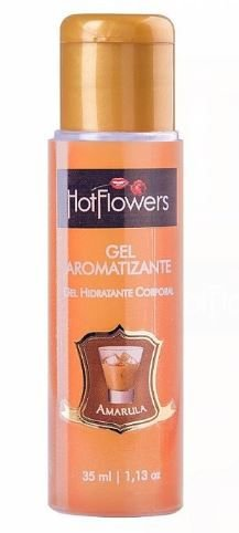 Gel Aromatizante Hot 35 ml - Hot Flowers | Sabor: Amarula