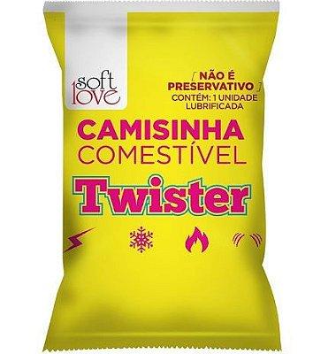 Camisinha Comestível Funcional - Twister - Soft Love