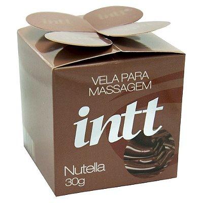 Vela Aromática Beijável 30 g - Intt | Sabor:  Nutella