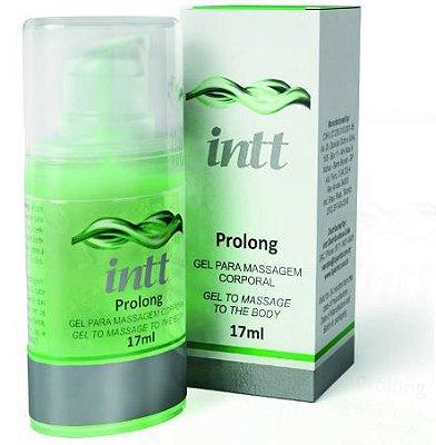 Gel Prolongador da Ereção e Retardador de Ejaculação 17 ml - Prolong Intt