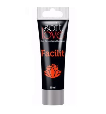 Gel Anestésico Anal 4 em 1 Facilit Hot Blackout Bisnaga 15 ml - Soft Love