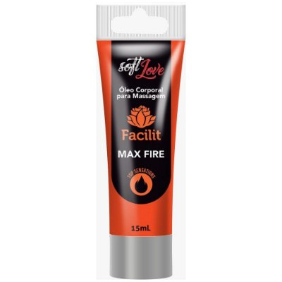 Facilit Max Fire Oléo Anestésico que Aquece 15 ml - Soft Love