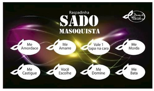 Raspadinha Sado - Brasil Fetiche