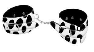 Algema Bracelete Luxo - Dominatrixxx | Estampa: Dalmata