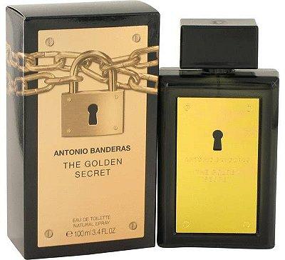 The Golden Secret Masculino Eau de Toilette Dourado 100ml