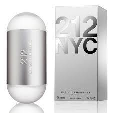 Perfume 212 Carolina Herrera Eau de Toilette Feminino 100 ml