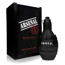 Perfume Arsenal Black for Men EDP 100 ml