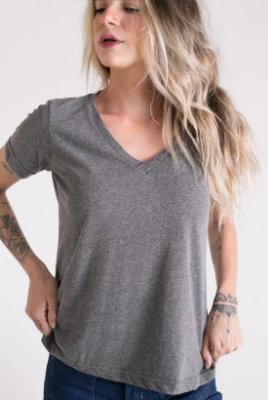 T-Shirt Gola V Mescla