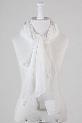 Scarf Basic Branco