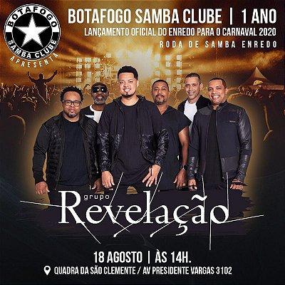 Ingresso Botafogo Samba Clube 1 ano - 2º lote