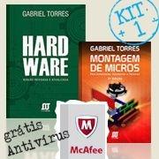 KIT 1 Hardware + Montagem de Micros - Grátis Antivírus