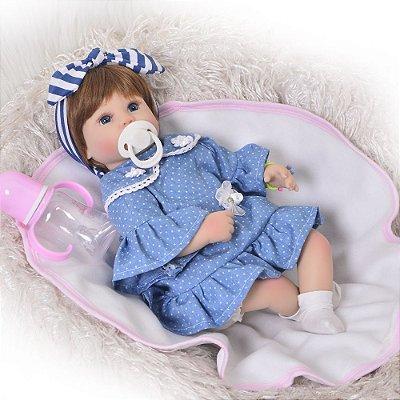 Boneca Bebe Reborn 026