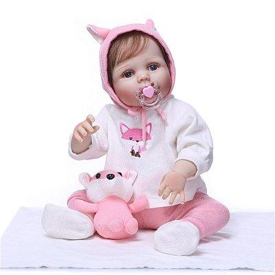 Boneca Bebe Reborn 028