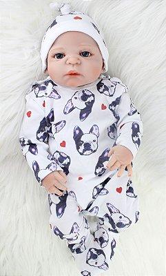 Boneca Bebe Reborn 034