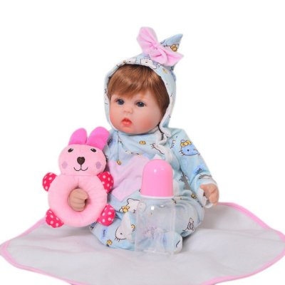 Boneca Bebe Reborn Belinha Corpo de Pano