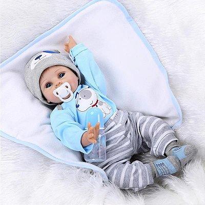 Boneca Bebe Reborn 063