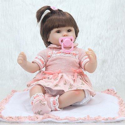 Boneca Bebe Reborn 074