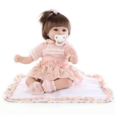 Boneca Bebê Reborn 083
