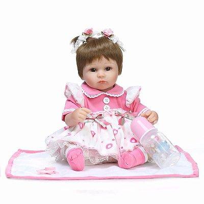 Boneca Bebê Reborn 084