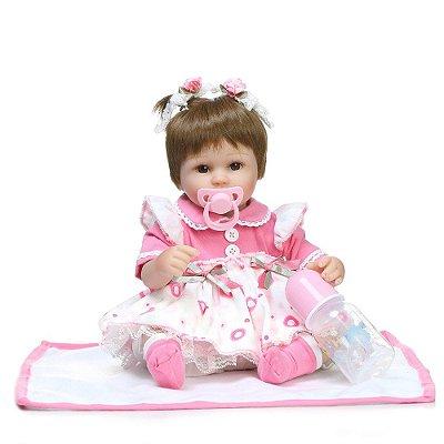 Boneca Bebê Reborn 0109