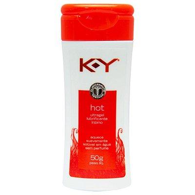K-Y Ultragel Hot Lubrificante Íntimo 50G Ky