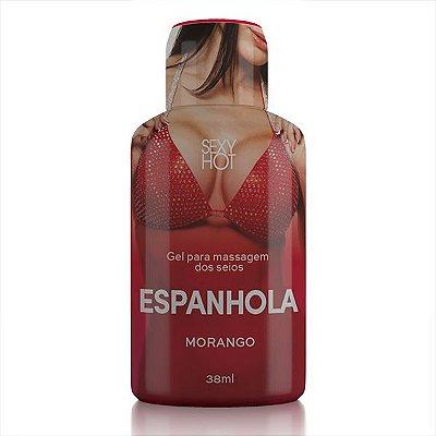 Gel para massagem dos seios ESPANHOLA - Morango