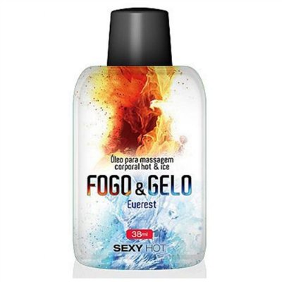 Gel Sensual Everest Fogo e Gelo 38 ml