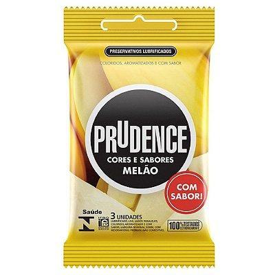 Preservativo Prudence Cores e Sabores Melão