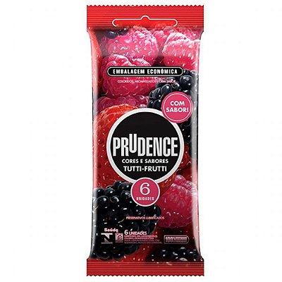 Preservativo Prudence Cores e Sabores Tutti-Frutti