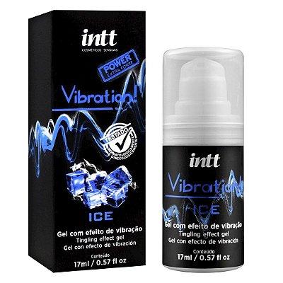 Gel comestível com efeito de vibração Vibration -  Extra Forte Ice 17ml