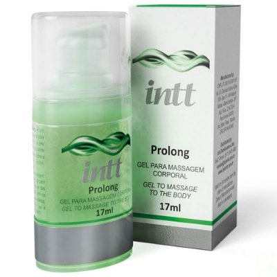 Gel Retardante Masculino Intt Prolong Prazer Prolongado 17 ml