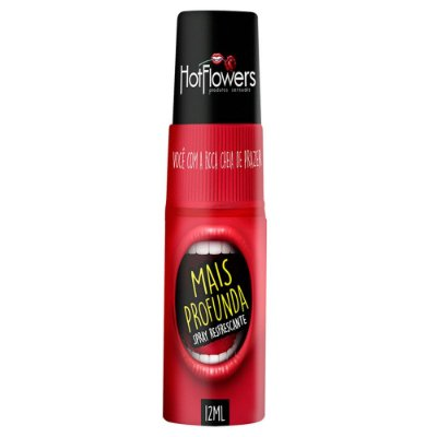 Spray Refrescante para Sexo Oral Mais Profunda 12ml