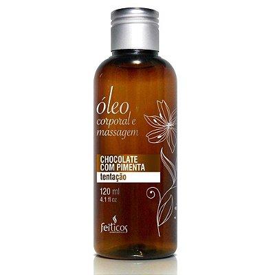 Óleo Aromático para Massagem Chocolate com Pimenta - 120 mL