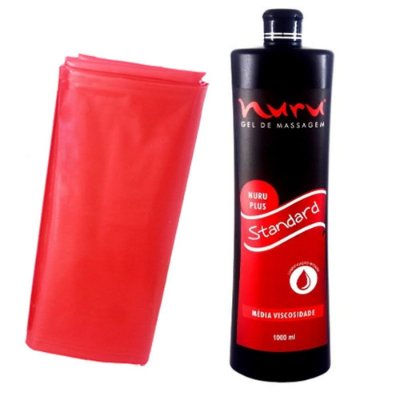 Gel para Massagem Nuru Plus Standard