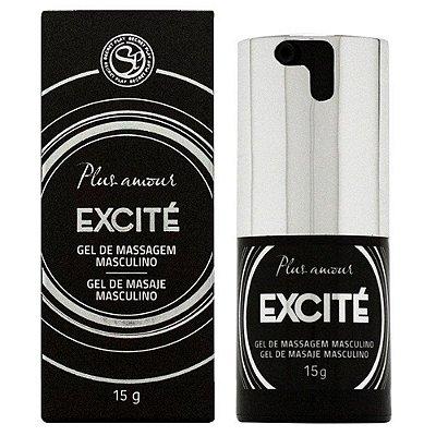 Gel Excitante de Massagem Masculino - 15 ml