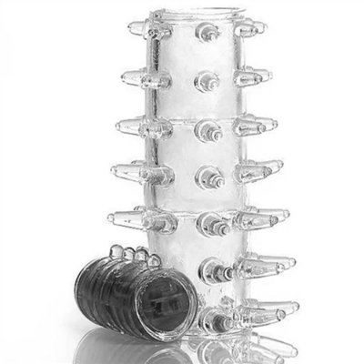 Capa Peniana sem Cabeça Viibe com Vibro Sortido 5,5 cm x 2,8 cm