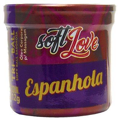 BOLINHA DRINK ESPANHOLA 12G 3 UNIDADES SOFT LOVE