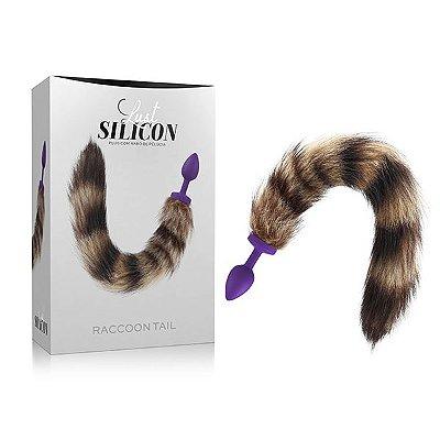 Plug Raccoon Tail- Lust Silicon