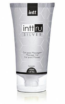 INTT RU SILVER  gel para massagem com alta viscosidade