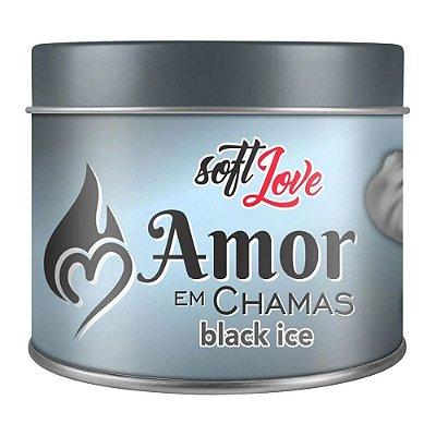AMOR EM CHAMAS VELA ICE BEIJÁVEL 50GR - SOFT LOVE